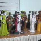 Group of clay figurines