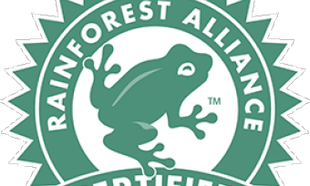 Seal for the Rainforest Alliance Certification
