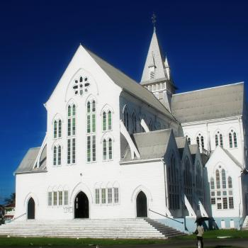 Photo of St. George's Cathedral in Guyana