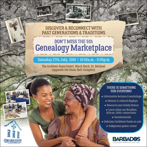 Genealogy Marketplace Flyer