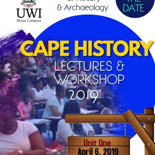 CAPE History Teachers and Students Workshop