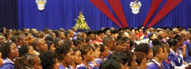 UWI graduation ceremony