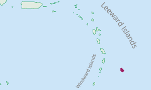 Location of Barbados in the Eastern Caribbean